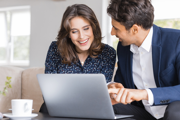 woman discussing biblically responsible investing with advisor
