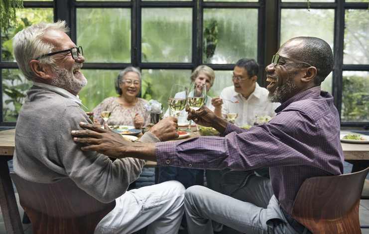 how to emotionally prepare for retirement friends in retirement PAX Financial Group
